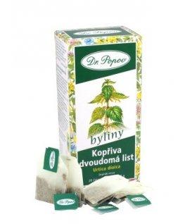 Čaj porcovaný žihľava kopřiva  list 30g