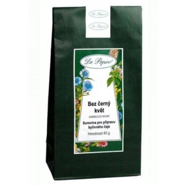 Čaj sypaný Baza čierna kvet 40g