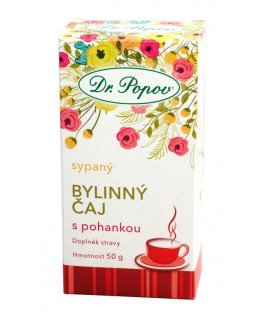 Čaj sypaný bylinný s pohankou 50g