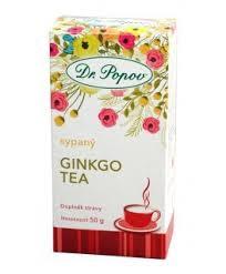 Čaj sypaný ginko tea  50g