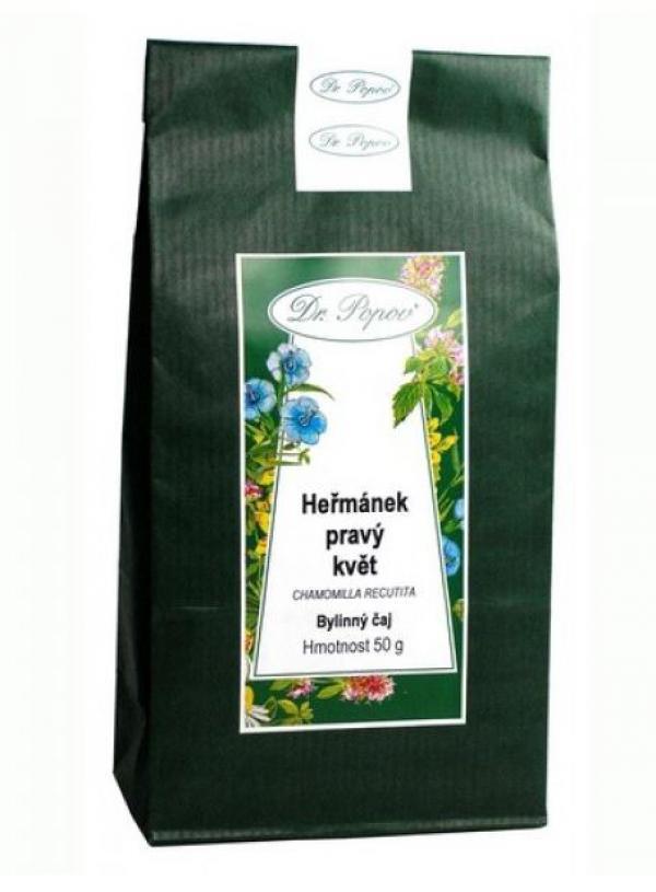 Čaj sypaný kamilka heřmánek pravý kvet 50g