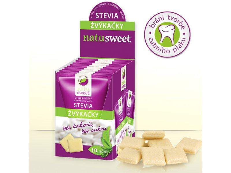Žuvačky Stevia 7,5g 10ks