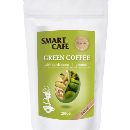 Káva zelená s kardamonom BIO RAW 200g