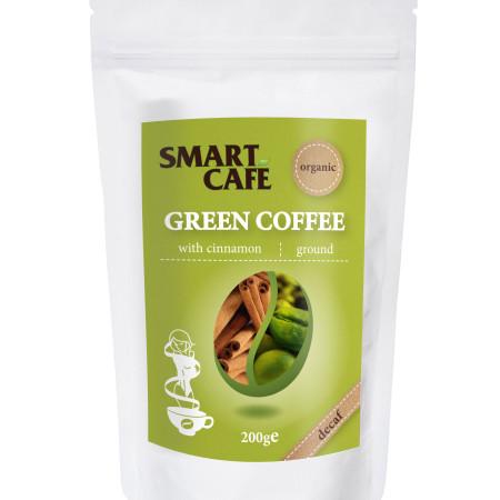 Káva zelená so škoricou BIO RAW 200g