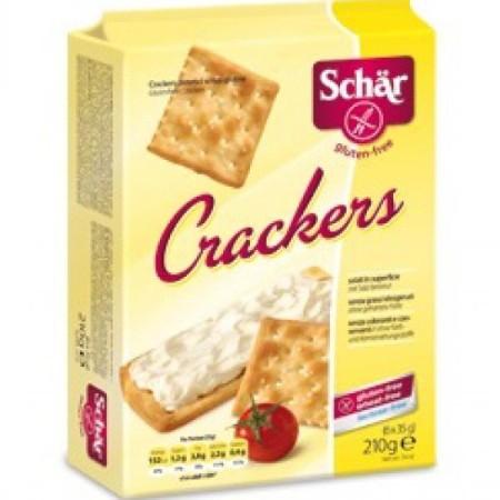 Krekry Crackers bezgluténové 210g