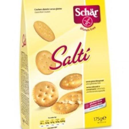 Krekry Salti slané bezgluténové 175g