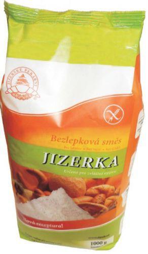 Múka Jizerka na pečenie zelená bezgluténová 1000g