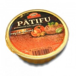 Nátierka Patifu rajčiny olivy 100g