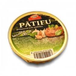 Nátierka Patifu s bazalkou a cesnakom 100g