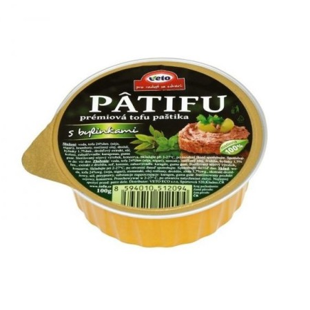 Nátierka Patifu s bylinkami 100g