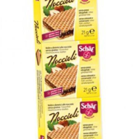 Napolitánky Noccioli oriešok čokoláda 3x21g