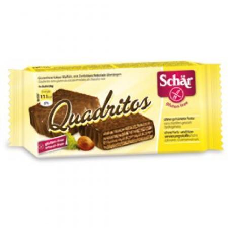 Napolitánky Quadritos kakao čokoládové 40g