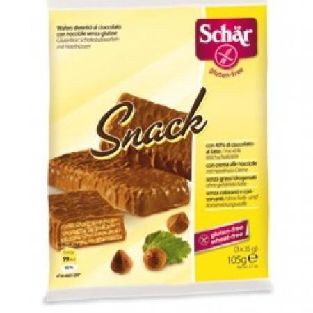 Napolitánky Snack oriešok čokoláda 3x35g
