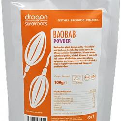 Prášok Baobab BIO RAW 100g