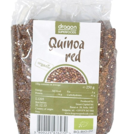 Quinoa červená 250g BIO