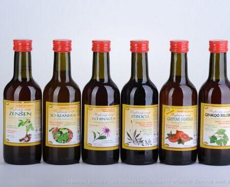 Sirup bylinkový bez cukru schizandra 290