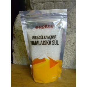 Soľ himalajská biela hrubá 500g