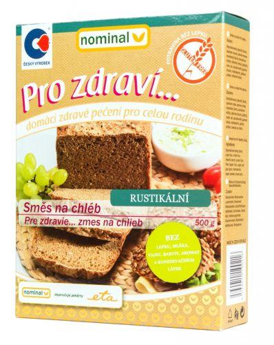 Zmes na chlieb rustikálna bezgluténová 500g