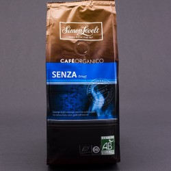 Káva Senza, zmes arabica mletá bez kofeínu BIO 250g