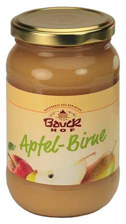 Pyré ovocné jablko hruška bez cukru BIO 360g