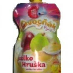 Pyré 100% Jablko Hruška 120g