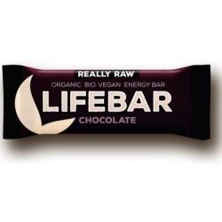 Tyčinka Lifebar čokoládová BIO RAW 47g