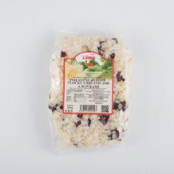 Vločky ryžové instantné s brusnicami a slivkami 250g